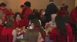 Atlantic ladies at Go For Red luncheon